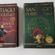 Libros de segunda mano: SANTIAGO POSTEGUILLO LOTE LAS LEGIONES MALDITAS Y AFRICANUS TAPA BLANDA. Lote 147059678