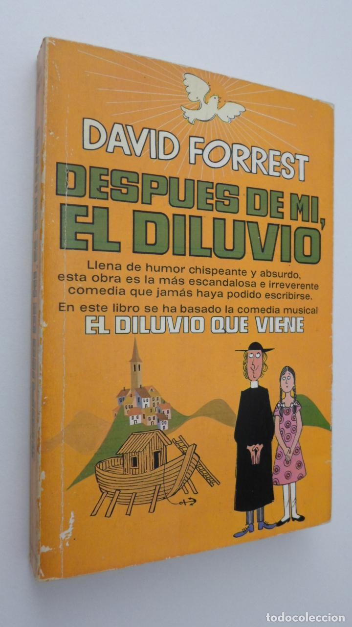 EL DILUVIO QUE VIENE - FORREST, DAVID (Libros de Segunda Mano (posteriores a 1936) - Literatura - Narrativa - Novela Histórica)