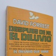 Libros de segunda mano: EL DILUVIO QUE VIENE - FORREST, DAVID. Lote 147451629