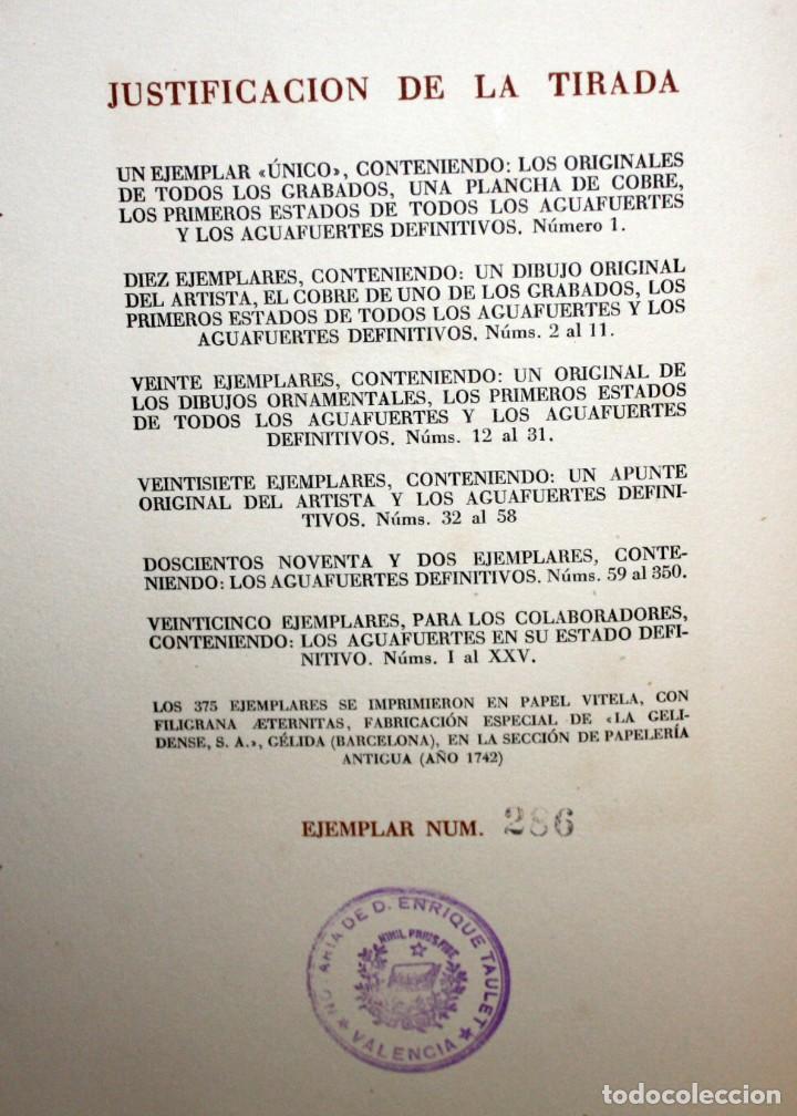 Libros de segunda mano: LA VIDA DE LAZARILLO DE TORMES Y DE SUS FORTUNAS Y ADVERSIDADES-1942. - Foto 4 - 147643842