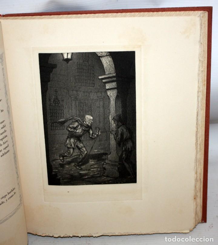 Libros de segunda mano: LA VIDA DE LAZARILLO DE TORMES Y DE SUS FORTUNAS Y ADVERSIDADES-1942. - Foto 8 - 147643842