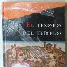 Libri di seconda mano: EL TESORO DEL TEMPLO - ELIETTE ABECASSIS - PRECINTADO Y NUEVO A ESTRENAR - VER DESCRIPCIÓN. Lote 147697242