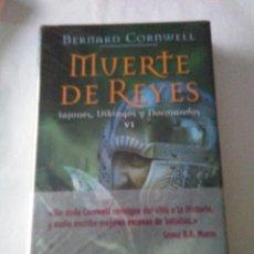 Libros de segunda mano: MUERTE DE REYES .BERNARD CORNWELL ( EDHASA ). Lote 148099494