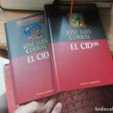 Libros de segunda mano: LIBRO EL CID TOMOD I Y II JOSÉ LUIS CORRAL 2000 PLANETA DEAGOSTINI L-17992. Lote 148171538