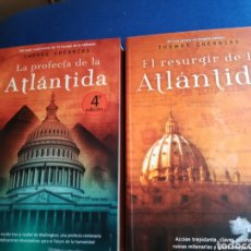 Libros de segunda mano: LA PROFECÍA DE LA ATLÁNTIDA Y EL RESURGIR DE LA ATLÁNTIDA POR THOMAS GREANIAS. LA FACTORIA. Lote 148204002