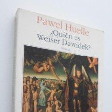 Libros de segunda mano: ¿QUIÉN ES WEISER DAWIDEK? - HUELLE, PAWEL. Lote 148713360