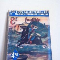Libros de segunda mano: EL FUGITIVO. COL. GRANDES NOVELISTAS ESPAÑOLES. 1944. Lote 148936942
