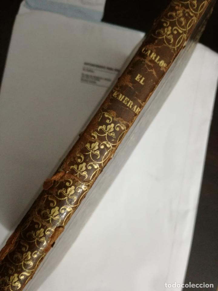 Libros de segunda mano: carlos el temerario o el solitario de monte salvaje por el vizconde de ablincourt.1853 - Foto 2 - 149406838