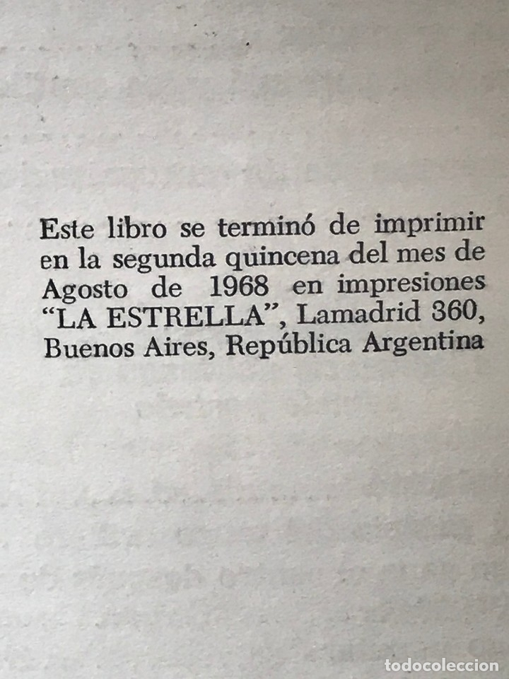 Libros de segunda mano: Libro Buenos Aires, arrabal, sainete, tango año 1968 - Foto 3 - 150492926
