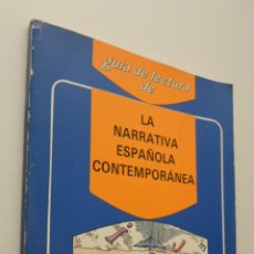 Libros de segunda mano: GUÍA DE LA NARRATIVA ESPAÑOLA CONTEMPORÁNEA - MARTÍNEZ MENCHÉN, ANTONIO. Lote 150773785