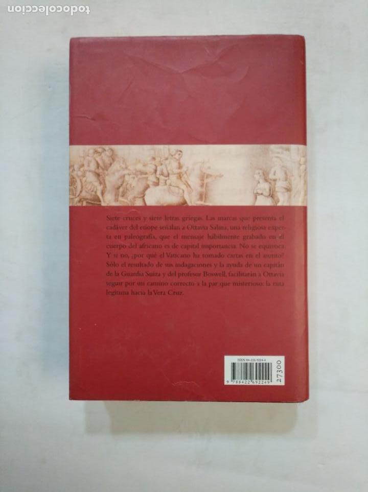 Libros de segunda mano: EL ÚLTIMO CATÓN. - MATILDE ASENSI. CIRCULO DE LECTORES. TDK368 - Foto 2 - 151868054