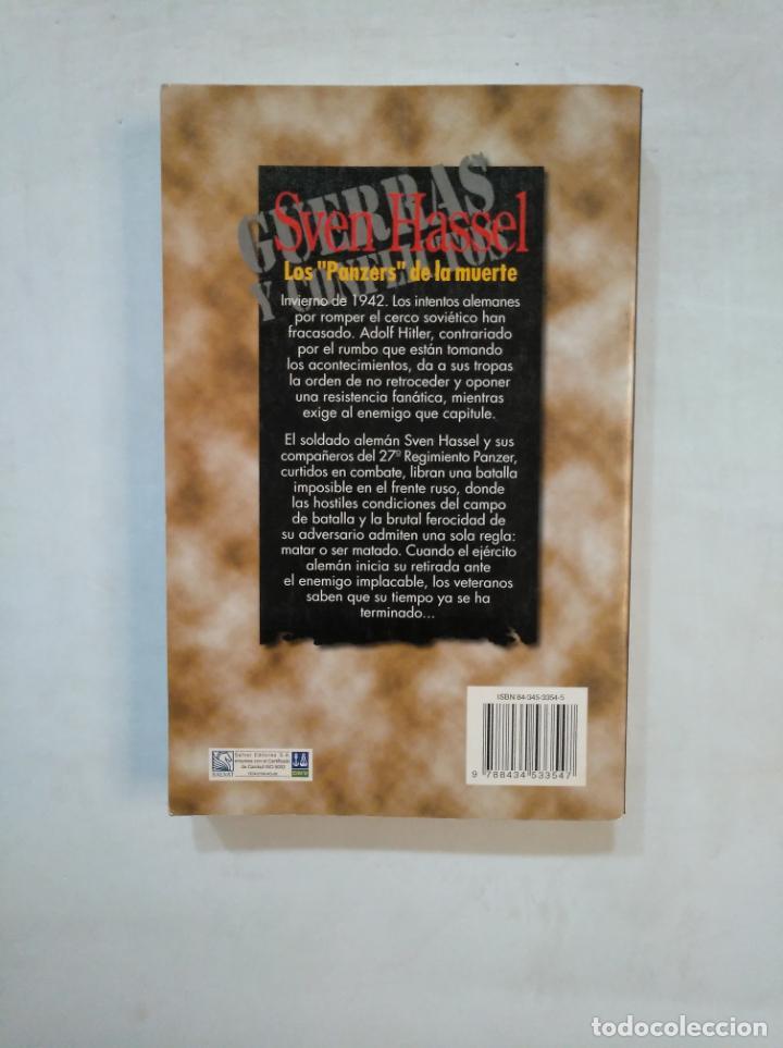 Libros de segunda mano: LOS PANZERS DE LA MUERTE. SVEN HASSEL. SALVAT. TDK369 - Foto 2 - 151933290