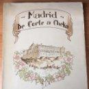 Libros de segunda mano: AGUSTÍN DE FOXÁ. MADRID, DE CORTE A CHEKA. JERARQUÍA, 1938. 1ª ED.. Lote 153079237