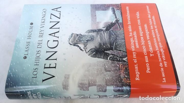 LOS HIJOS DEL REY VIKINGO - VENGANZA - LASSE HOLM -ESPASA - TAPAS DURAS + CUBIERTA (Libros de Segunda Mano (posteriores a 1936) - Literatura - Narrativa - Novela Histórica)
