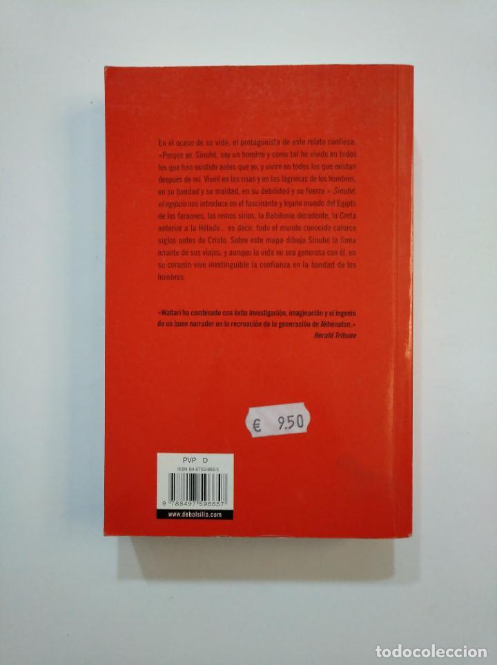 Libros de segunda mano: SINUHE, EL EGIPCIO. MIKA WALTARI. DEBOLSILLO. TDK374 - Foto 2 - 154743578