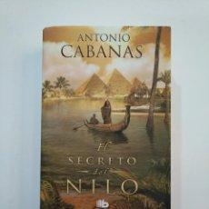 Libros de segunda mano: EL SECRETO DEL NILO. - ANTONIO CABANAS. TDK374. Lote 154743798