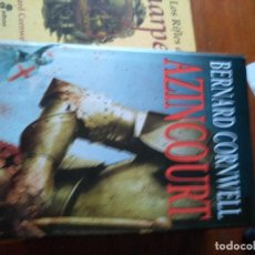 Libros de segunda mano: AZINCOURT CORNWELL, BERNARD TRADUCTOR: CANTERA, GREGORIO EDHASA. Lote 155794388