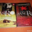 Libros de segunda mano: EL ASIRIO & LA ESTRELLA DE SANGRE. NICHOLAS GUILD. EDITORIAL PAMIES 2013 , 2014. USADOS.. Lote 155233218