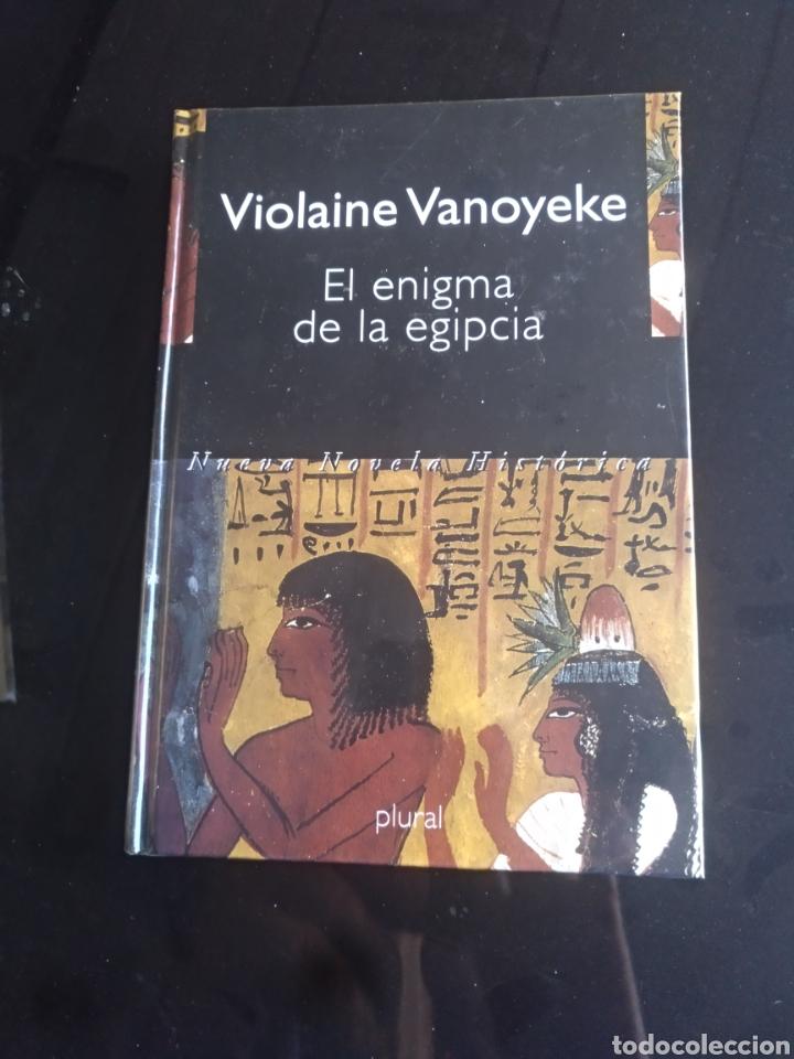 EL ENIGMA DE LA EGIPCIA (Libros de Segunda Mano (posteriores a 1936) - Literatura - Narrativa - Novela Histórica)
