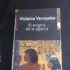 Libros de segunda mano: EL ENIGMA DE LA EGIPCIA. Lote 155476569