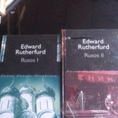 Libros de segunda mano: RUSOS I Y II EDWARD RUTHERFURD. Lote 155477754