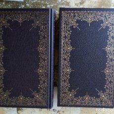 Libros de segunda mano: DON QUIJOTE DE LA MANCHA. TOMO I Y II. MIGUEL DE CERVANTES. GRANDES CLÁSICOS UNIVERSALES. Lote 156508950