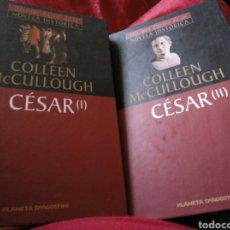 Libros de segunda mano: CESAR DE COLLEN MCCULLOUGH, 2 LIBROS. Lote 156550657