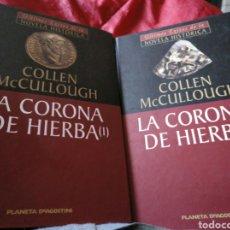 Libros de segunda mano: LA CORONA DE HIERBA. COLLEN MCCULLOUGH. Lote 156552073
