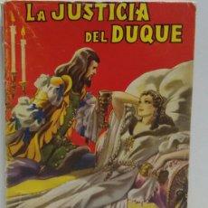 Libros de segunda mano: RAFAEL SABATINI LA JUSTICIA DEL DUQUE. Lote 156563384