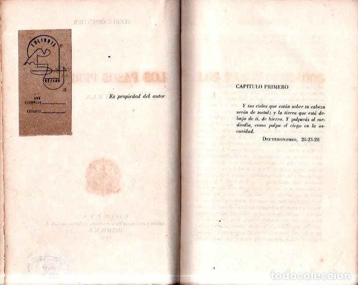 Libros de segunda mano: LOS PASOS PERDIDOS. ALEJO CARPENTIER. E. D. I. A. P. S. A. 1ª EDICION. 1953. 2000 EJEMPLARES. - Foto 6 - 158515978