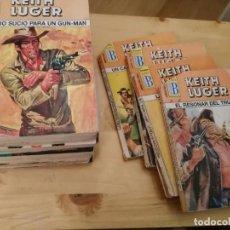 Libros de segunda mano: ASES DEL OESTE - KEITH LUGER - EDICIONES B - BRUGUERA - OESTE. Lote 160035638