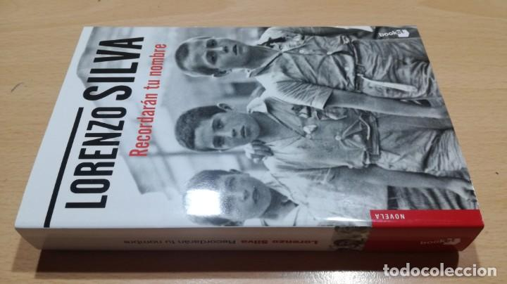 RECORDARAN TU NOMBRE/ LORENZO SILVA/ DESOBEDECIÓ ORDEN ALZARSE CONTRA REPUBLICA (Libros de Segunda Mano (posteriores a 1936) - Literatura - Narrativa - Novela Histórica)
