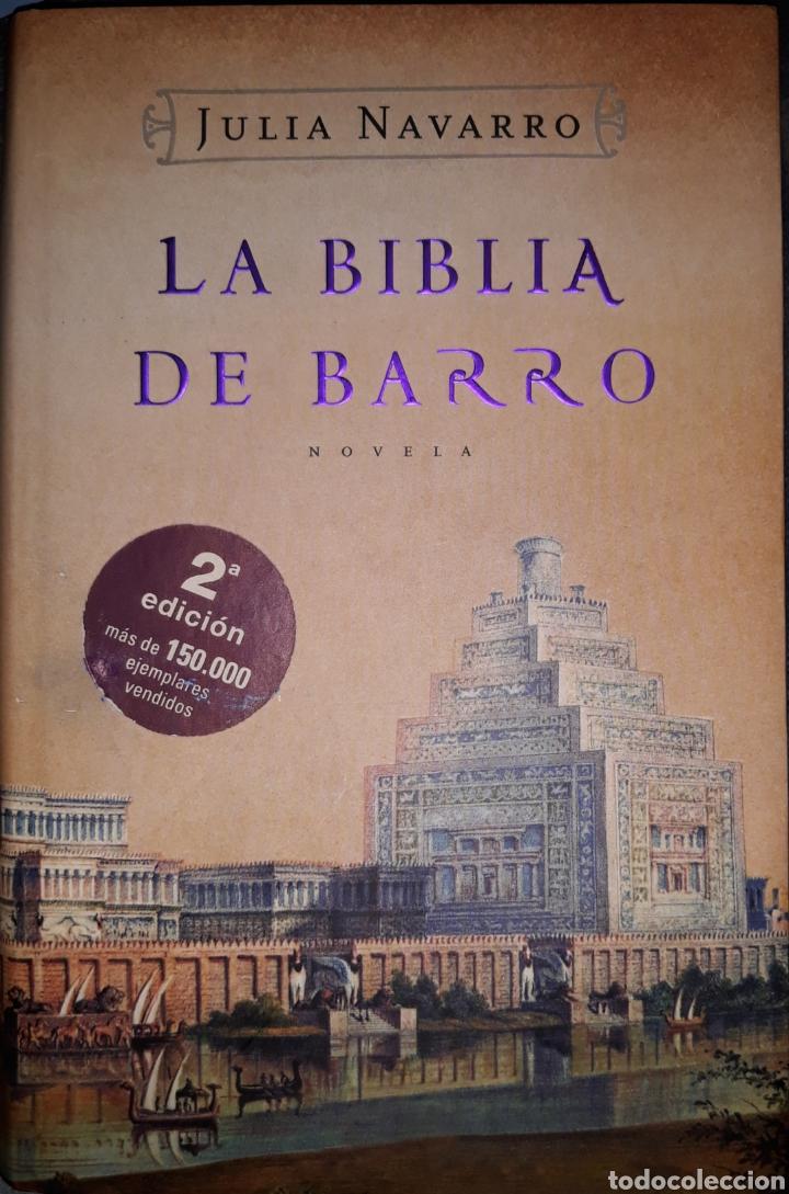LA BIBLIA DE BARRO 2 EDICION 2005 (Libros de Segunda Mano (posteriores a 1936) - Literatura - Narrativa - Novela Histórica)