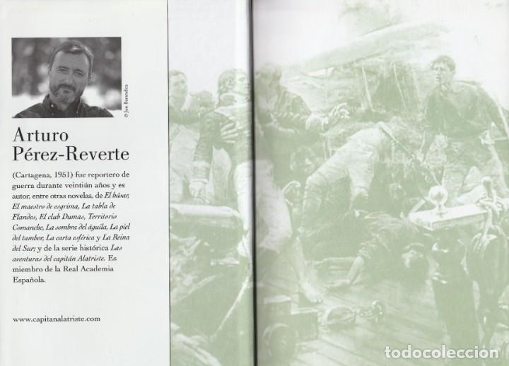 Libros de segunda mano: Cabo Trafalgar (edición de 2005), de Arturo Pérez-Reverte, editorial Alfaguara (Grupo Santillana). - Foto 4 - 160424438