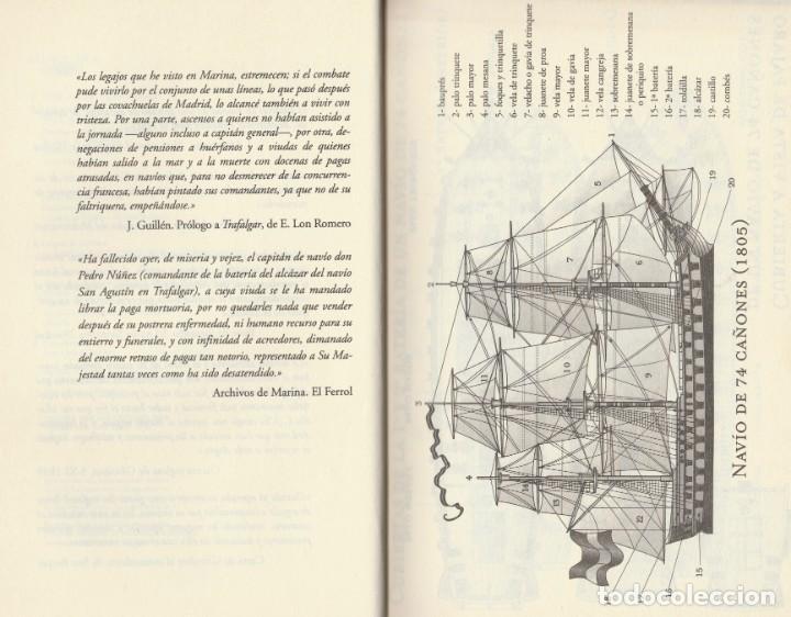 Libros de segunda mano: Cabo Trafalgar (edición de 2005), de Arturo Pérez-Reverte, editorial Alfaguara (Grupo Santillana). - Foto 7 - 160424438