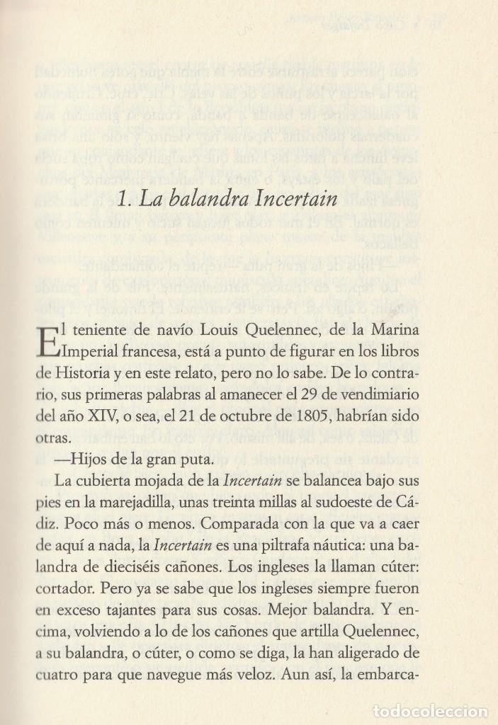 Libros de segunda mano: Cabo Trafalgar (edición de 2005), de Arturo Pérez-Reverte, editorial Alfaguara (Grupo Santillana). - Foto 11 - 160424438