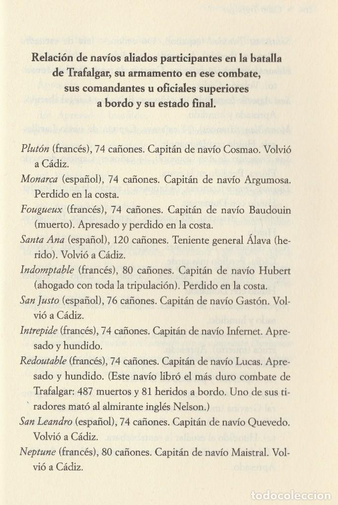 Libros de segunda mano: Cabo Trafalgar (edición de 2005), de Arturo Pérez-Reverte, editorial Alfaguara (Grupo Santillana). - Foto 12 - 160424438
