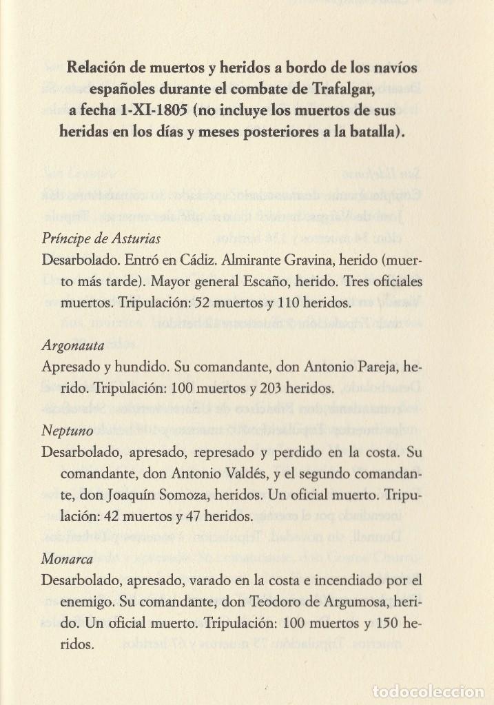 Libros de segunda mano: Cabo Trafalgar (edición de 2005), de Arturo Pérez-Reverte, editorial Alfaguara (Grupo Santillana). - Foto 13 - 160424438