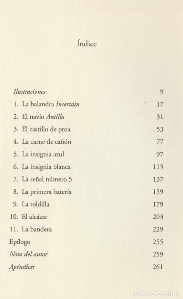 Libros de segunda mano: Cabo Trafalgar (edición de 2005), de Arturo Pérez-Reverte, editorial Alfaguara (Grupo Santillana). - Foto 14 - 160424438