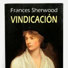 Libros de segunda mano: EDICIÓN VINDICACIÓN - FRANCES SHERWOOD. Lote 160919118
