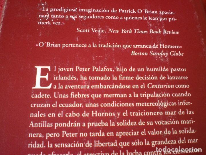 Libros de segunda mano: CONTRA VIENTO Y MAREA. PATRICK OBRIAN. NARRATIVAS HISTÓRICAS EDHASA. - Foto 6 - 161469806