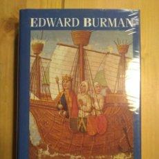 Livros em segunda mão: EL ÚLTIMO TEMPLARIO - EDWARD BURMAN - CÍRCULO DE LECTORES - NUEVO -PRECINTADO. Lote 161919906