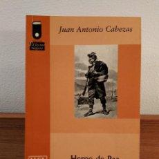 Libros de segunda mano: HÉROE DE PAZ. CABEZAS, JUAN ANTONIO. EDITA ALSA / ENATCAR 2002. ISBN 8439811608.. Lote 164967414