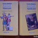 Libros de segunda mano: ANÍBAL. GISBERT HAEFS. 1ª Y 2ª PARTE (DOS TOMOS). NOVELA HISTÓRICA, SALVAT, 1994.. Lote 165085314