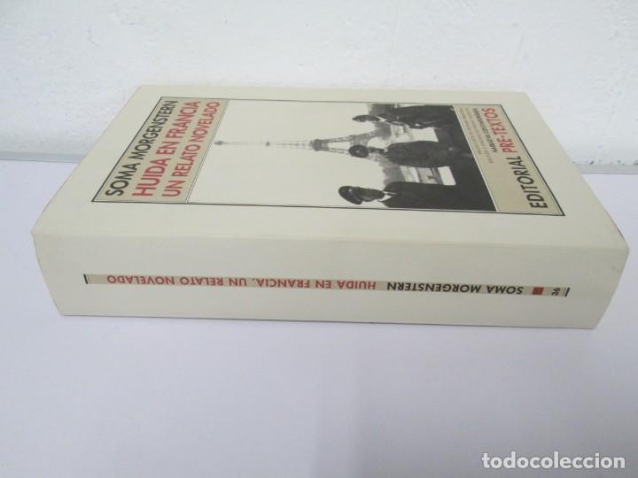Libros de segunda mano: SOMA MORGENSTERN. HUIDA EN FRANCIA. UN RELATO NOVELADO. EDICION PRE-TEXTOS. 2005 - Foto 2 - 167911500