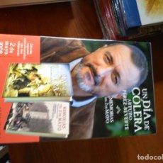Libros de segunda mano: UN DÍA DE CÓLERA. ARTURO PÉREZ-REVERTE + MEMORIAS DEL 2 DE MAYO.SELECCIÓN DE JOSÉ M. GUERRERO ACOSTA. Lote 210623017