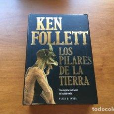 Libros de segunda mano: LIBRO - KEN FOLLETT: LOS PILARES DE LA TIERRA. Lote 168319638