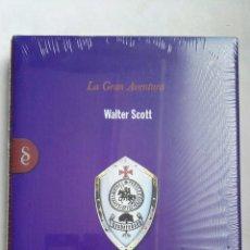 Libros de segunda mano: IVANHOE LA GRAN AVENTURA WALTER SCOTT PRECINTADO. Lote 168326368