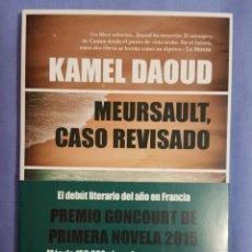 Libros de segunda mano: LIBRO / MEURSAULT, CASO REVISADO / KAMEL DAOUD / 2015 / EDITORIAL ALMUZARA / 176 PÁGINAS /. Lote 169063560