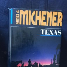 Libros de segunda mano: TEXAS DE JAMES A. MICHENER. Lote 169426664